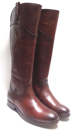 Frye Leather Riding Redwood Boots Image 6