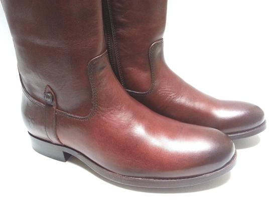 Frye Leather Riding Redwood Boots Image 7