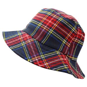 The Clueless Dionne Bucket Plaid Hat