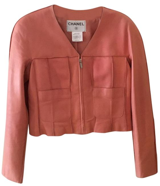 Preload https://img-static.tradesy.com/item/19690329/chanel-pink-lambskin-long-sleeve-jacket-size-8-m-0-1-650-650.jpg