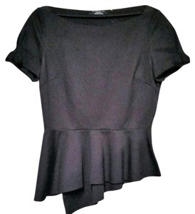 Elie Tahari Peplum Top black