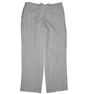 Charter Club Wide Leg Pants White