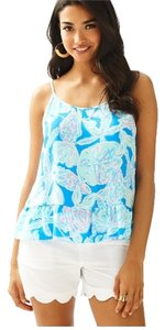 Lilly Pulitzer Into The Deep Top Bay Blue