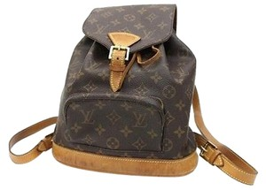 Louis Vuitton Montsouris Monogram Canvas Backpack
