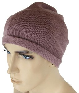 Bottega Veneta NEW Authentic Bottega Veneta Cashmere Beanie Hat Mauve 329636 6322