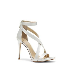 Imagine By Vince Camuto Imagine Vince Camuto Devin Satin Sandals Silver Wedding Shoes