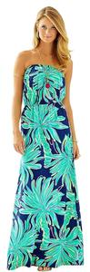 Navy Tiger Palm Maxi Dress by Lilly Pulitzer