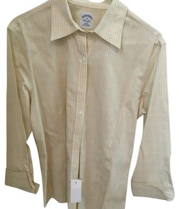 Brooks Brothers Button Down Shirt Light yellow
