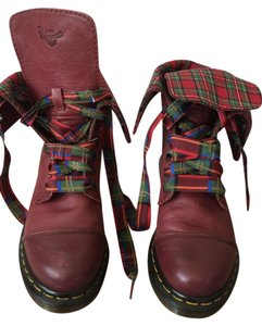 Dr. Martens Cherry Red Rouge Boots