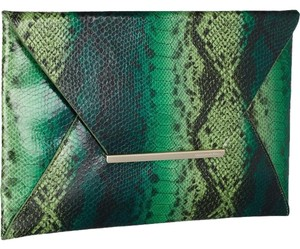 BCBGMAXAZRIA Green Clutch
