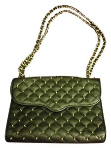 Rebecca Minkoff Jumbo Studded Quilted Leather Cross Body Bag