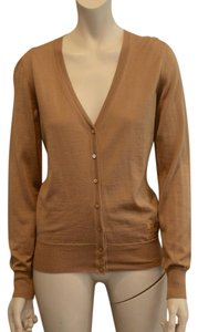 Cline Silk Brown Cashmere Cardigan