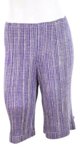 Pleats Please Houndstooth Cropped Capri Capri/Cropped Pants