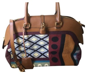 Burberry Prorsum Milverton Tapestry Luggage Tote