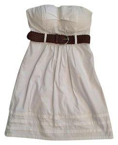Guess short dress white Little on Tradesy