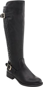 White Mountain Riding Boot Knee High Black Boots