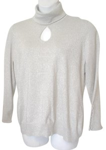 Lane Bryant Long Sleeve Turtleneck Keyhole Sweater