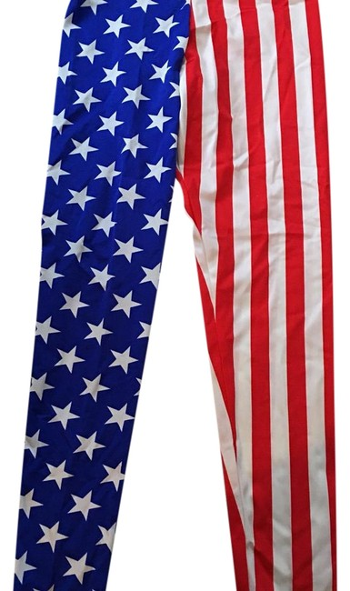 Item - World Flags Usa Jeggings Size 34 (12, L)