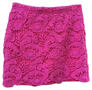 Wet Seal Mini Skirt Pink