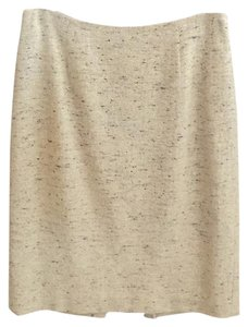 Ann Taylor LOFT Skirt Cream