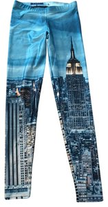 Black Milk Clothing BLACK MILK CLOTHING NEW YORK SKYELINE LEGGINGS SIZE LARGE MUSEUM ITEM