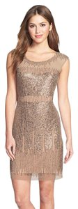 Adrianna Papell Sleeveless Beaded Sheath Dress