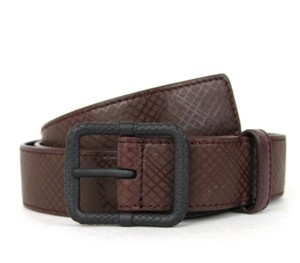 Bottega Veneta NEW Authentic Leather Belt Brown/Burgundy 90/36 298794 2201