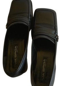 Via Spiga Black Flats
