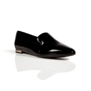 Burberry Patent Leather Loafers Black Boots