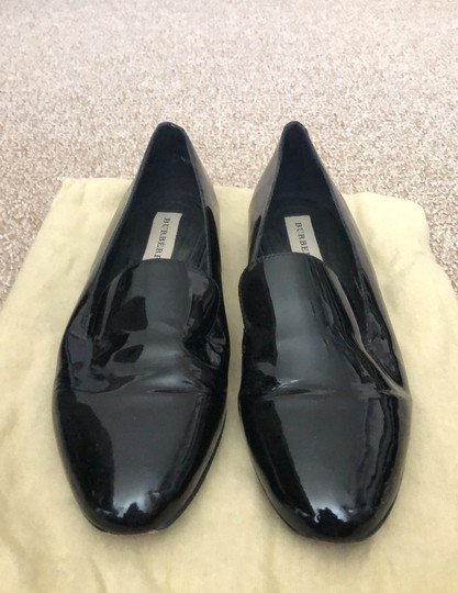Burberry Patent Leather Loafers Black Boots Image 3