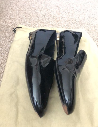 Burberry Patent Leather Loafers Black Boots Image 6