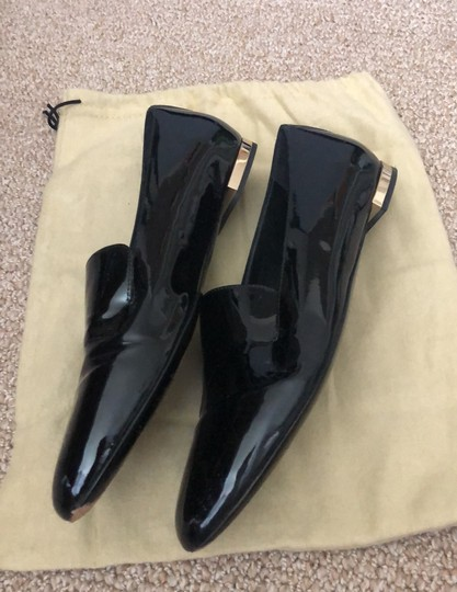 Burberry Patent Leather Loafers Black Boots Image 7
