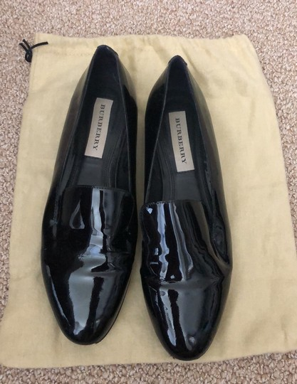 Burberry Patent Leather Loafers Black Boots Image 8