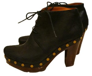 Marc by Marc Jacobs Suede Platform Black Boots
