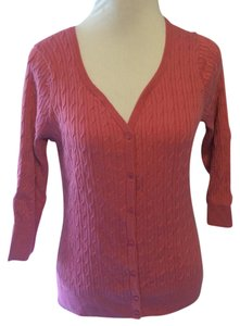 Talbots Sweater Solid Cardigan