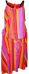 Nine West short dress MULTI COLOR STRIPE on Tradesy