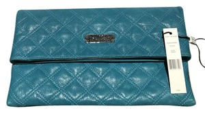 Marc Jacobs Quilted Eugenie Teal Clutch