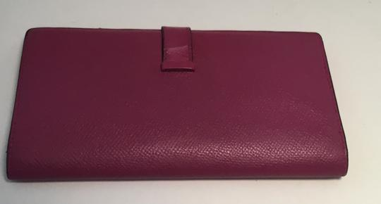 Hermès Hermes Bearn Wallet With Gold Toned Hardware Image 1