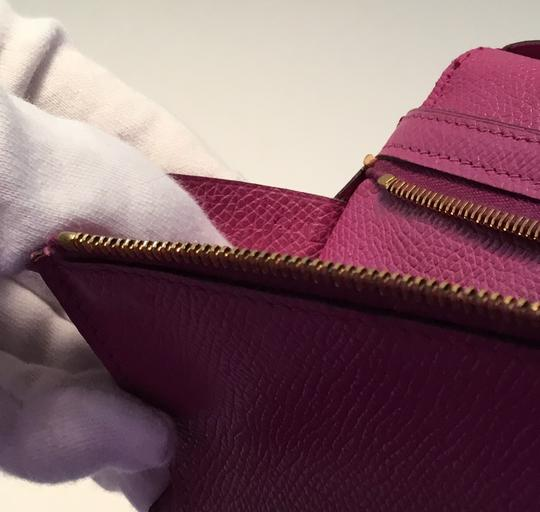 Hermès Hermes Bearn Wallet With Gold Toned Hardware Image 3