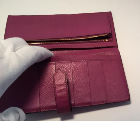Hermès Hermes Bearn Wallet With Gold Toned Hardware Image 4