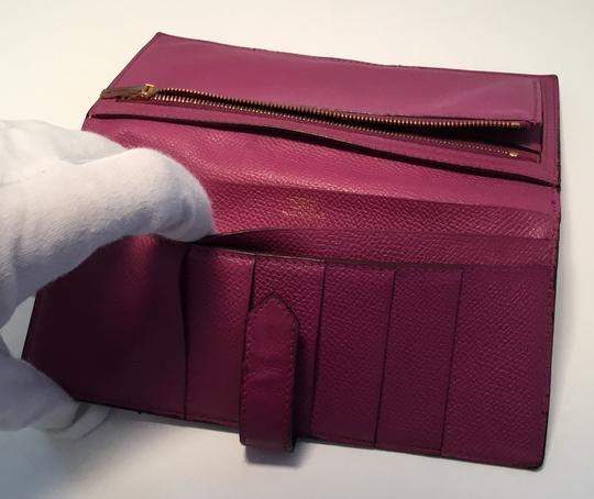 Hermès Hermes Bearn Wallet With Gold Toned Hardware Image 5