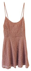 Forever 21 short dress Pink Lace Blush on Tradesy