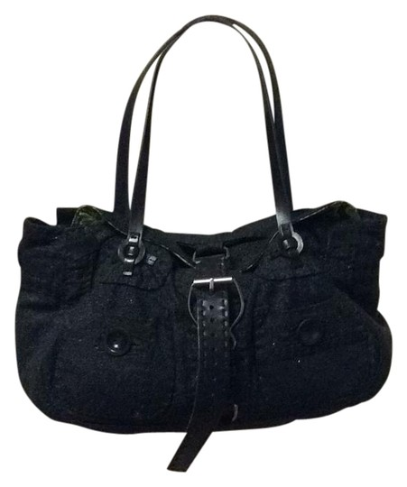 Preload https://img-static.tradesy.com/item/19692669/jamin-puech-black-leatherfabric-satchel-0-1-540-540.jpg