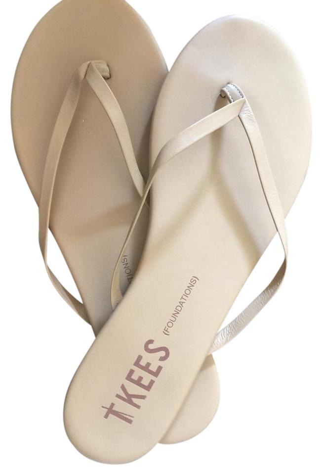 55049f694 TKEES Nude Bone Foundations Flip Flop Sandals Size US 10 Regular (M ...