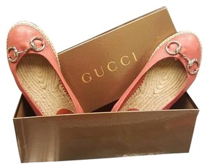 Gucci Light Brown Salmon Color Flats