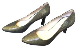 Franco Sarto black with gold Pumps