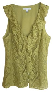 Banana Republic Top Green yellow