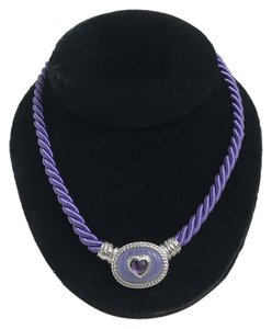 Judith Ripka Judith Ripka Magnetic Oval Cord Necklace