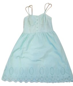 Xhilaration short dress Mint Eyelet Sweetheart Country Cowboy on Tradesy