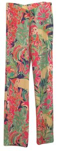 Lilly Pulitzer Wide Leg Pants Multi Casa Banana